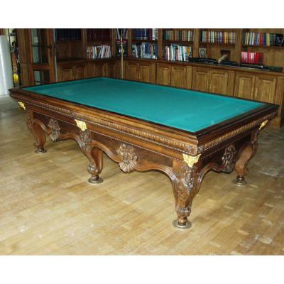 billard ancien sur proantic napoleon iii. Black Bedroom Furniture Sets. Home Design Ideas