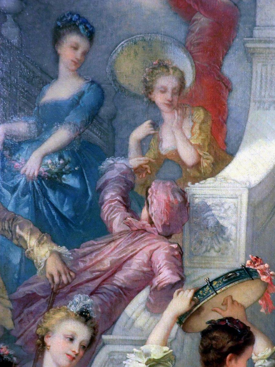 André Charles Voillemot (1823-1893).  163.5cm x130.8cm-photo-3