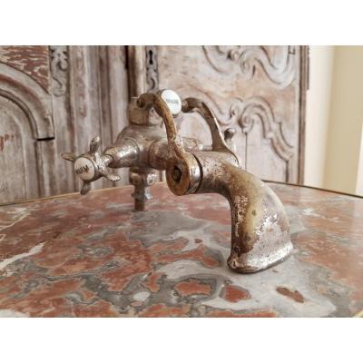 Old Bathroom Faucet.