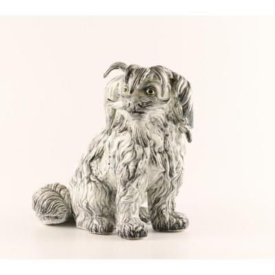 Figure Of The Maltese Dog. Russia. Kuznetsov