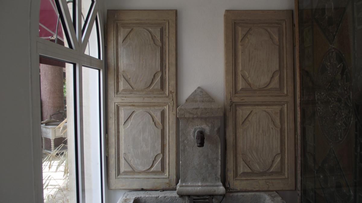 Paire de portes de placard
