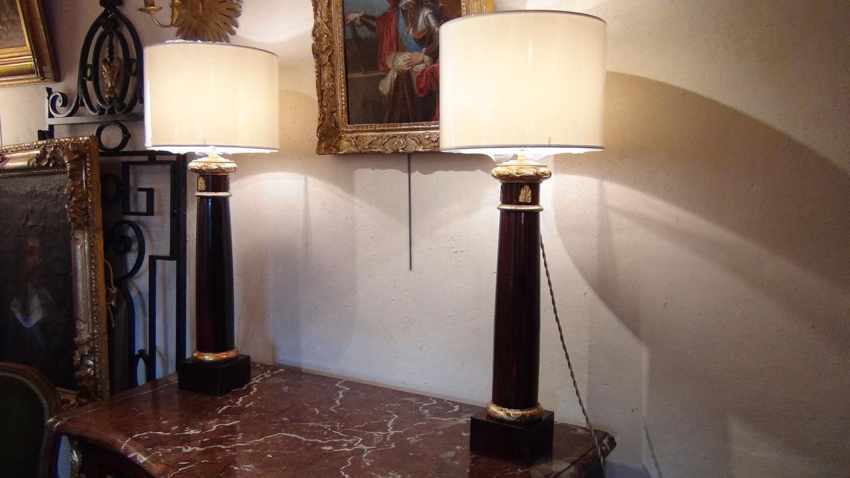 Lampes Empire
