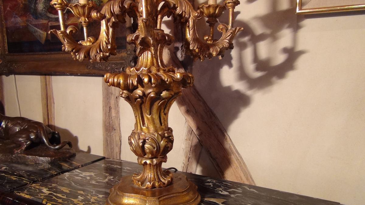 Paire De Flambeaux Style XVIIIème-photo-3
