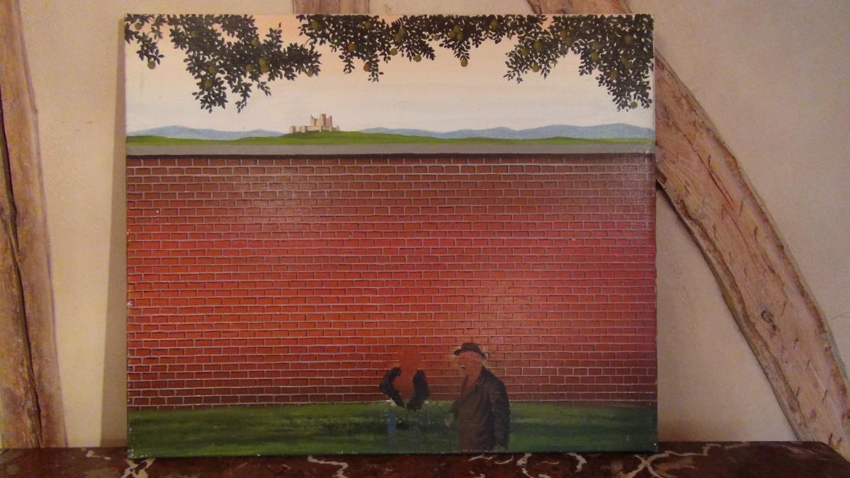 Acrylique Sur Toile Fred Zeller