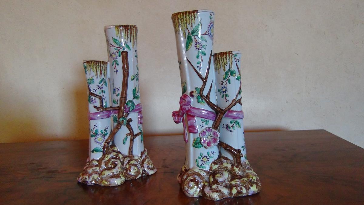 Paire de Vases Saint Clément