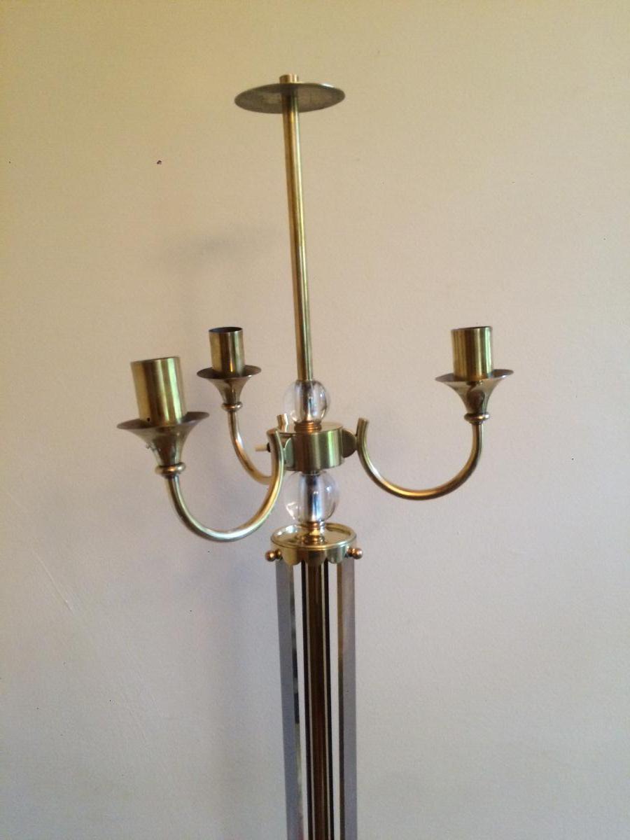 Lampadaire Maison Jansen -photo-2