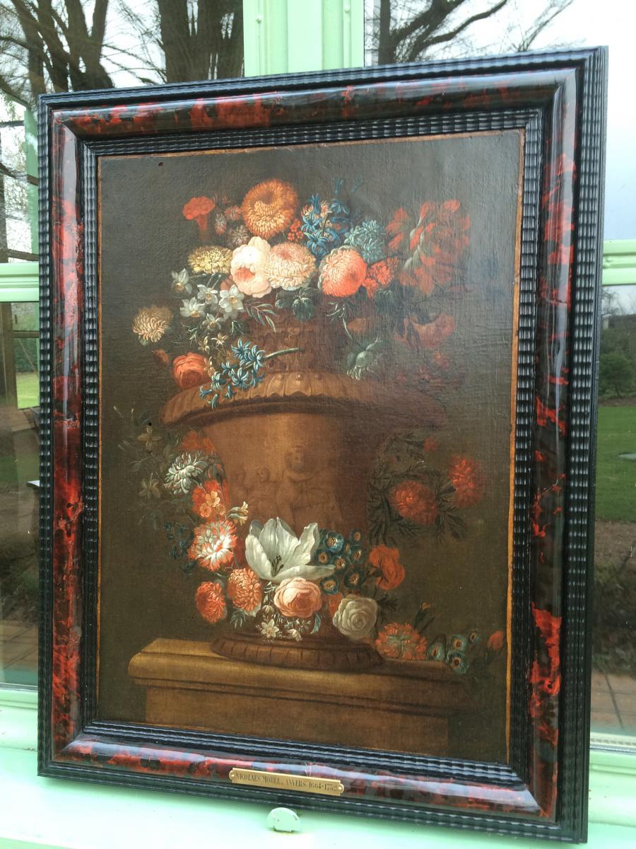 Bouquet de Fleurs fin XVII ème -photo-2