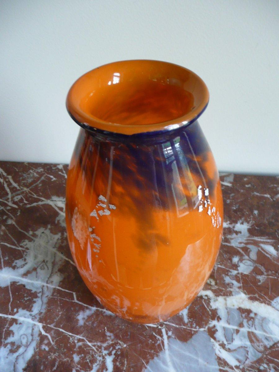 Vase Muller Frères Vers 1925