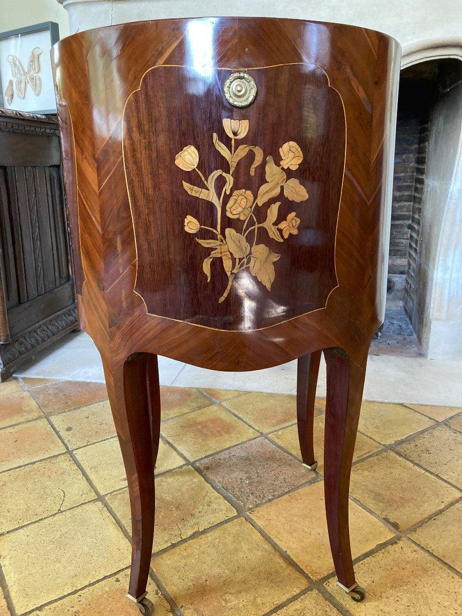 Table De Salon à Rideau Russe du XVIII ème-photo-3