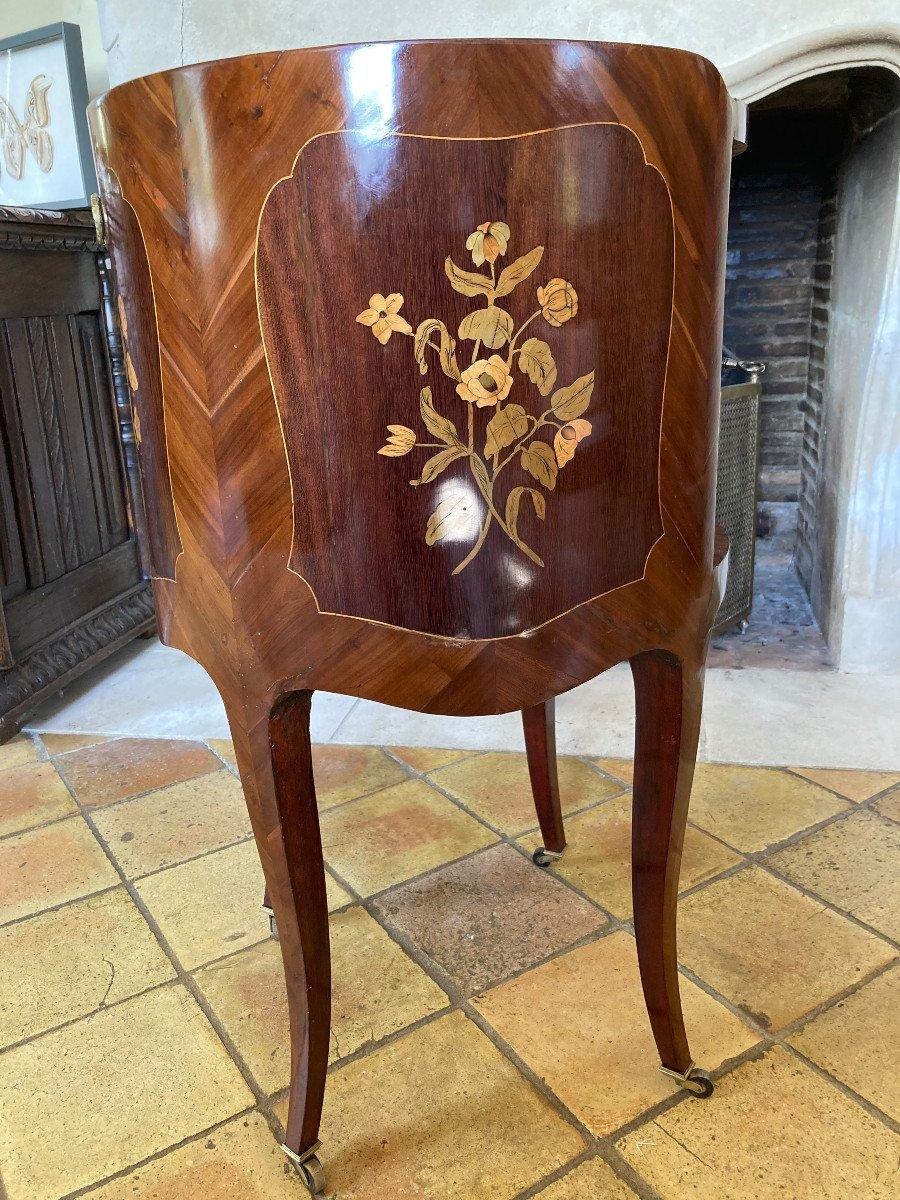 Table De Salon à Rideau Russe du XVIII ème-photo-4