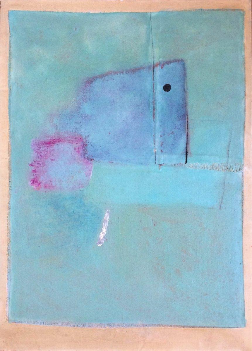 Abstraction. Françoise Brunet. Années 70. Ecole Française.