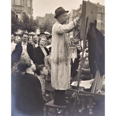 3 photographies tirages argentiques des années 30. R.Ponsaerts.