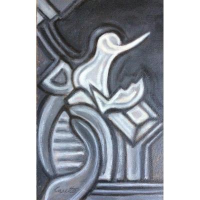 Abstraction. Fernand Carette. Années 60.