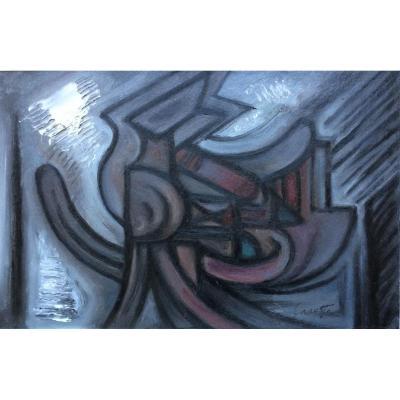 Abstraction. Fernand Carette. 60s.