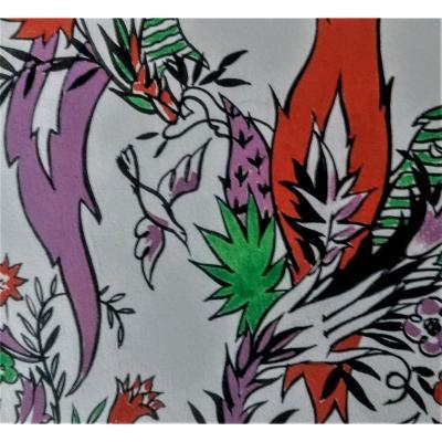 2 Wallpaper Projects. Jean Van Noten. 40s. Gouaches.