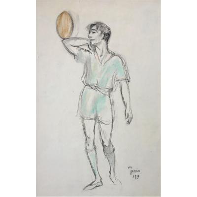 "Marguerite Grain (1899-1986). ""the Athlete"". 1931."