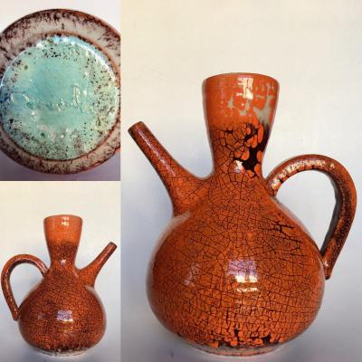 Pottery Of Accolay (1945-1989). Pitcher. 1960s.