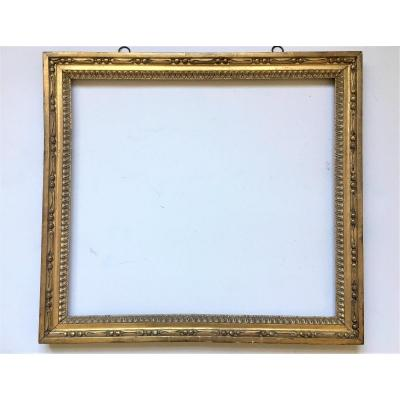 Pair Of Carved And Gilded Wooden Frames From The Louis XVI Period.