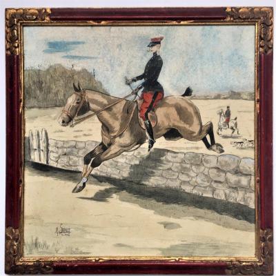 """M. Sarault. """" Cavalier"""". 1904."""