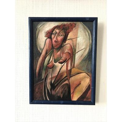 "Cyr Frimout (1938). "" Nu féminin"". 1984."