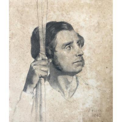 Joseph Félon (bordeaux 1818- Antibes 1896).