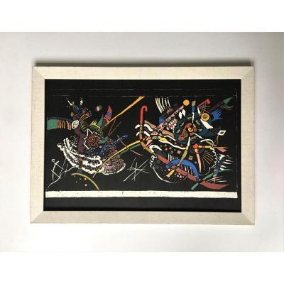 "Wassily Kandinsky (1866-1944), After. ""juryfreie"". 1958. Publisher Maeght, Printer Mourlot."
