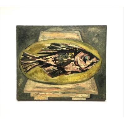"""Aimé Esposito-Farèse (1932-1995). """" Ixous"""". 1963."""