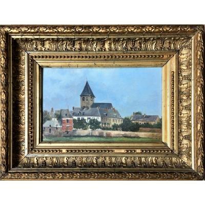"Marie Collinet XIXth. ""village Of Wallonia"". 1896."