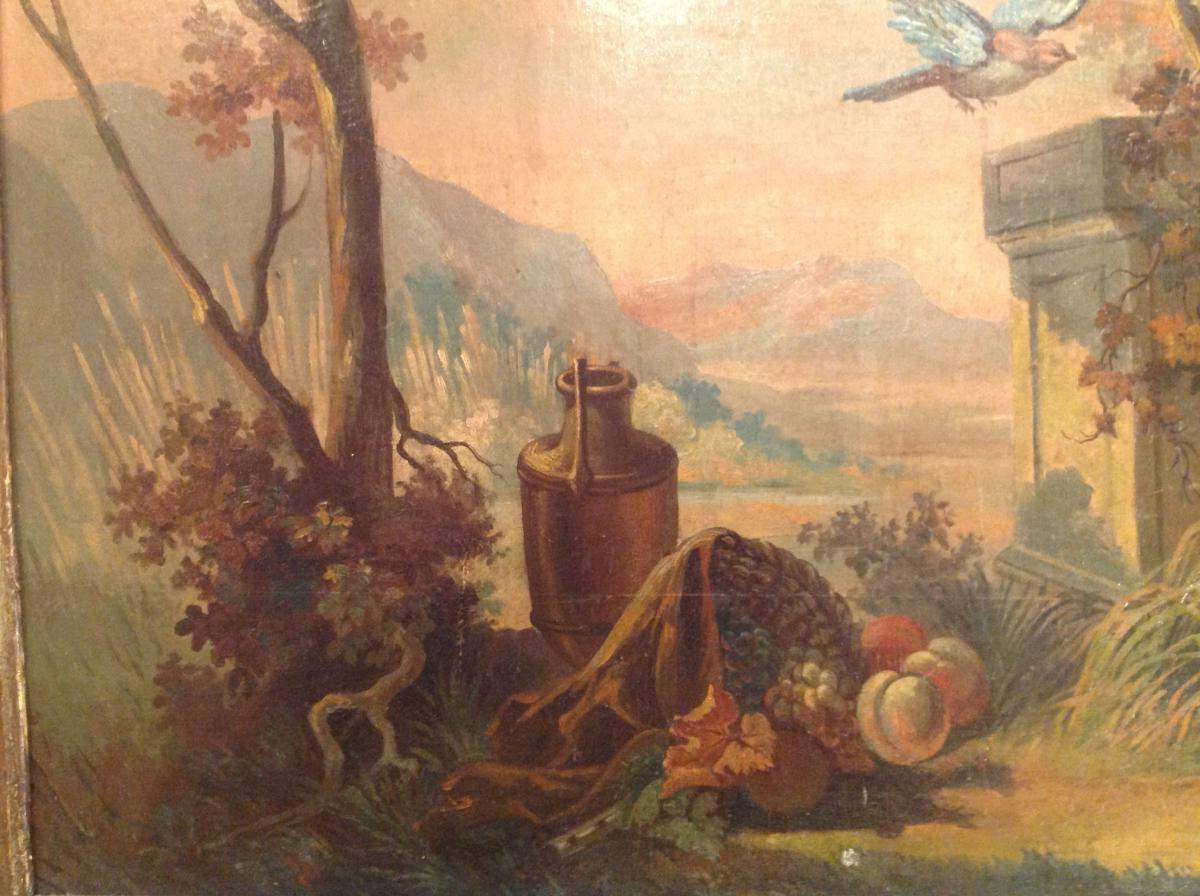 Trumeau De Fin Du 18 Eme Siècle -photo-3