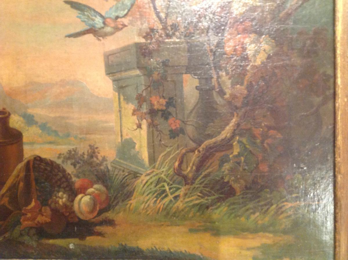 Trumeau De Fin Du 18 Eme Siècle -photo-1