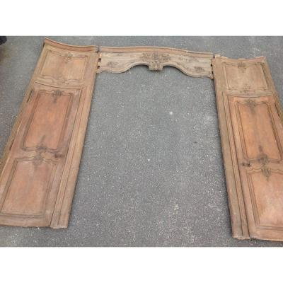 Very Rare On The Market Regency Style Oak Alcove