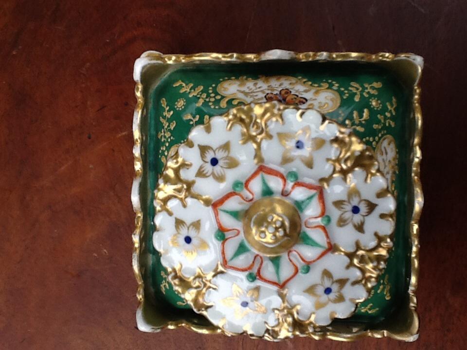 Paire De Flacon De Parfum En Porcelaine Signes Jacob Petit -photo-3