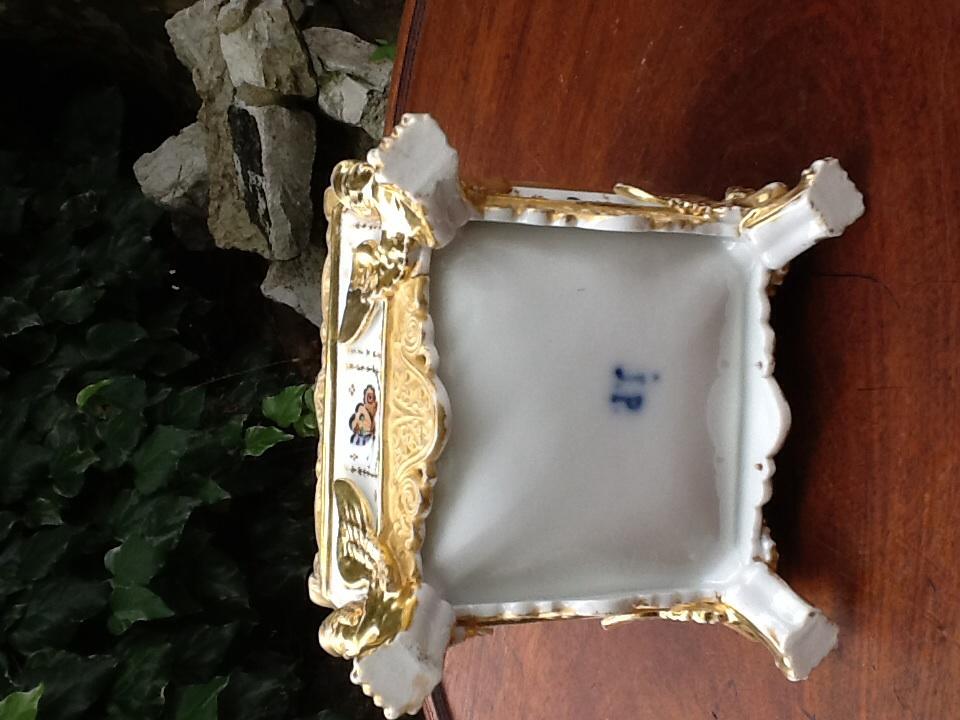 Paire De Flacon De Parfum En Porcelaine Signes Jacob Petit -photo-4
