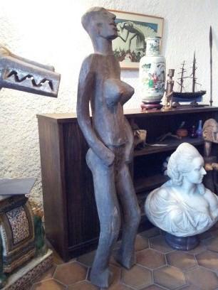 """Sculpture Ethnie BOBO""Burkina Faso-Art Premier-Premiere Moitie Du XX-"