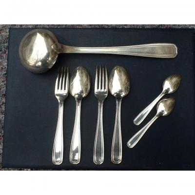 Cutlery Silver Metal Christofle