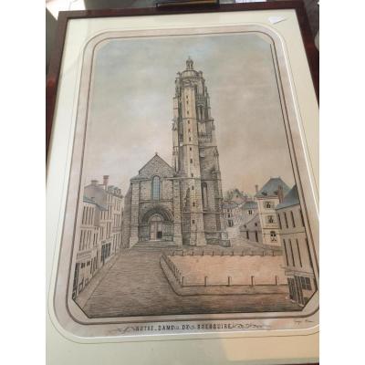 Dessin Notre Dame De Bressuire