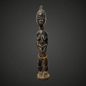 Statue Baoulé De Côte - D Ivoire ,