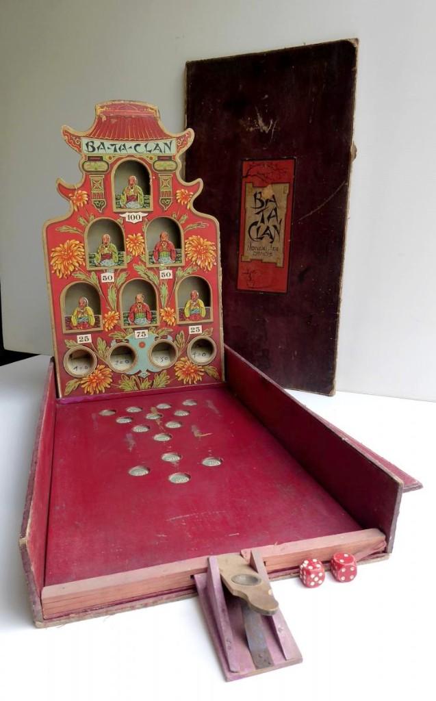 Jeu Ancien Au Chinois: Ba Ta Clan, Maison Atlas, Vers 1920