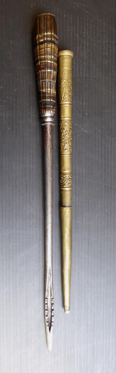 Pique à Gibier Dans Sa Gaine, époque Louis XIV