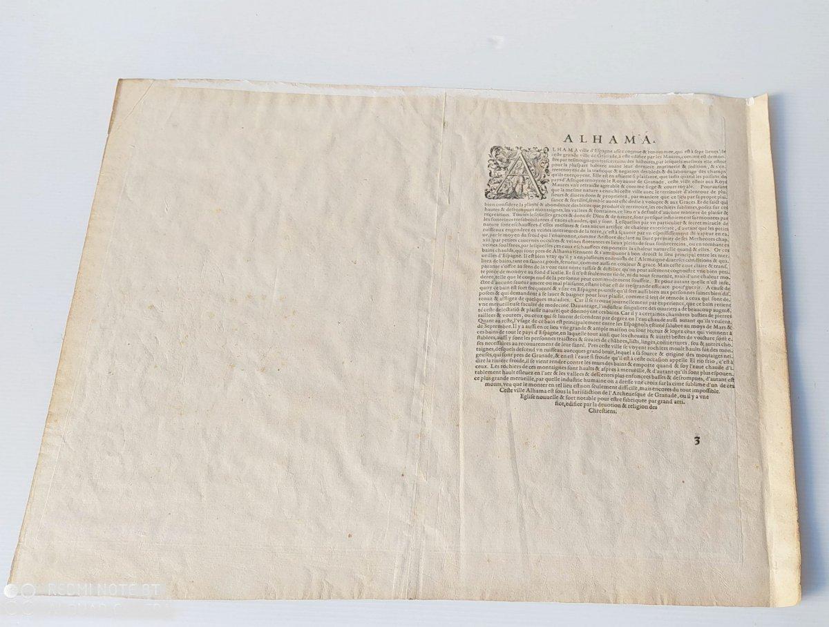 Les Sources Chaudes d'Alhama, Braun- 1564, Genuine Colors!-photo-1