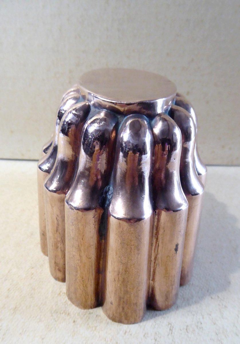Napoleon III Oval Copper Mold, Very Nice Shape-photo-2