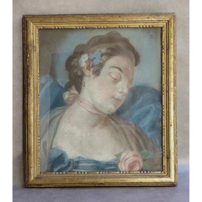 Pastel De Charme, Fin XVIIIe: La Belle Endormie