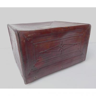 Curious Leather Luggage, 1830, Malletier Parisien Rignault