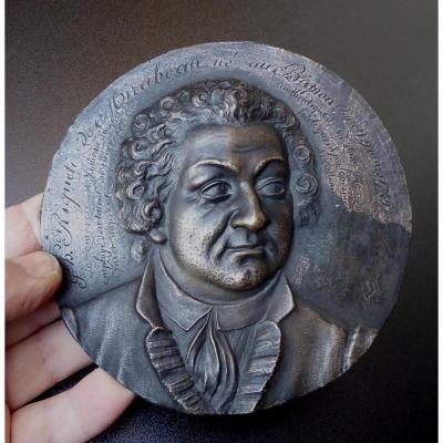 Mirabeau, By His Natural Son, Bronze Plaque Eck Et Durand
