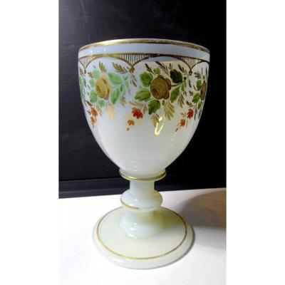 Baccarat Opale Christal, Desvignes Decor Circa 1830
