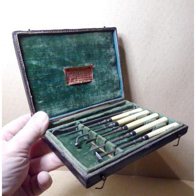 Coffret Dentaire, Par P. F. Grangeret, Coutelier Du Roi, 1820
