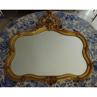 Rocaille Style Mirror Late Nineteenth