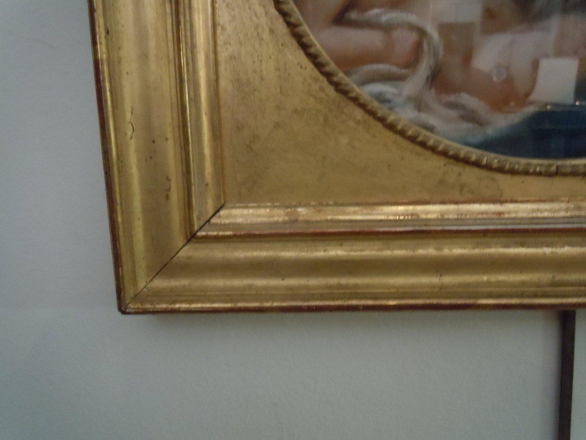 Pastel Vierge A L Enfant 18eme Siecle-photo-4
