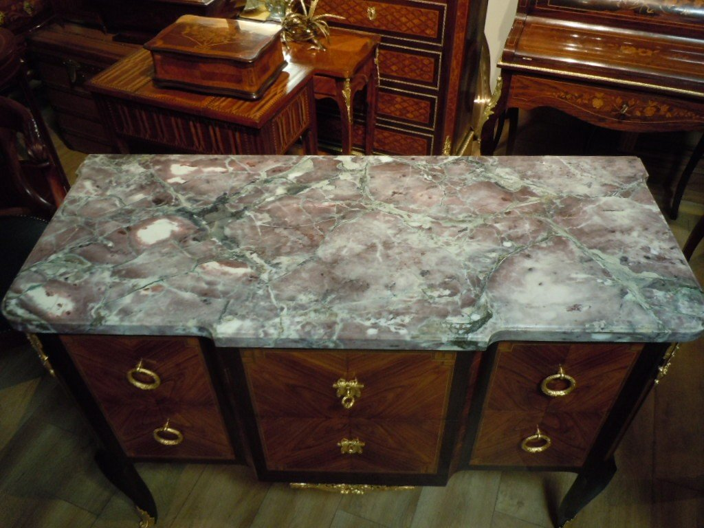 Commode Style Transition Estampillee Rinck-photo-2