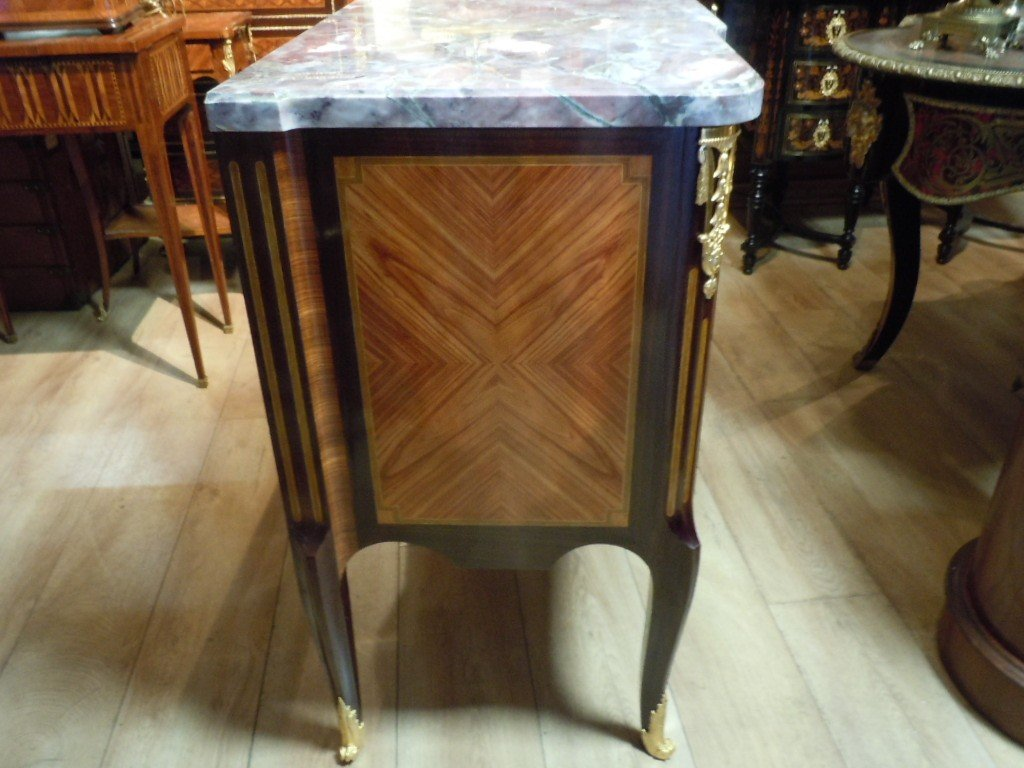 Commode Style Transition Estampillee Rinck-photo-3